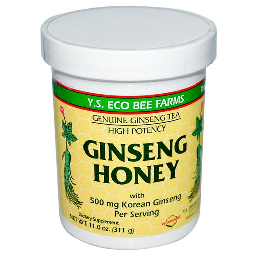Y.S. Eco Bee Farms, Ginseng Honey, 11.0 oz (311 g) Review