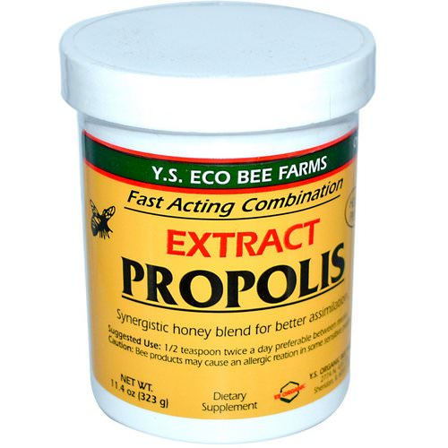 Y.S. Eco Bee Farms, Propolis, Extract, 11.4 oz (323 g) Review