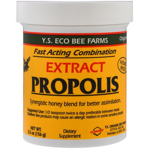 Y.S. Eco Bee Farms, Propolis Extract, 5.5 oz (156 g) Review