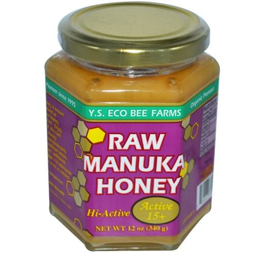Y.S. Eco Bee Farms, Raw Manuka Honey, Active 15+, 12 oz (340 g) Review