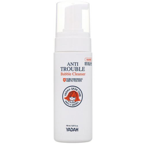 Yadah, Anti Trouble Bubble Cleanser, 5.07 fl oz (150 ml) Review