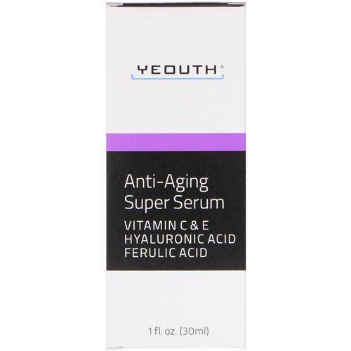 Yeouth, Anti-Aging Super Serum, 1 fl oz (30 ml) Review