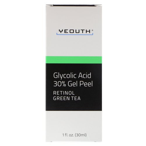 Yeouth, Glycolic Acid, 30% Gel Peel, 1 fl oz (30 ml) Review