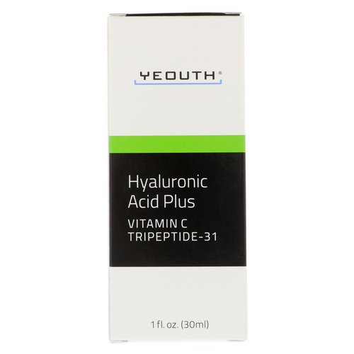 Yeouth, Hyaluronic Acid Plus, 1 fl oz (30 ml) Review