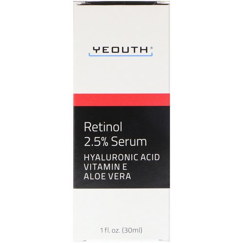 Yeouth, Retinol, 2.5% Serum, 1 fl oz (30 ml) Review