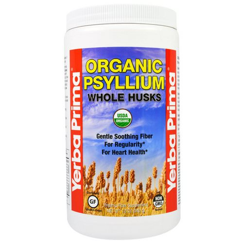 Yerba Prima, Organic Psyllium Whole Husks, 12 oz (340 g) Review