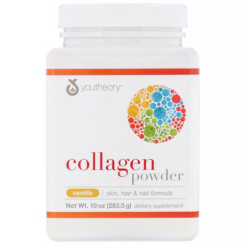 Youtheory, Collagen Powder, Vanilla, 10 oz (283.5 g) Review