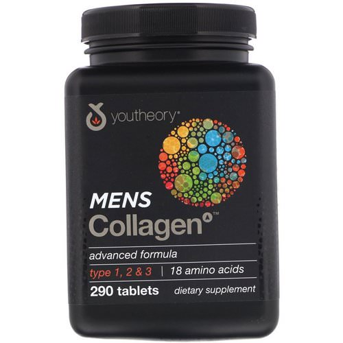 Youtheory, Mens Collagen Advanced Formula, 290 Tablets Review