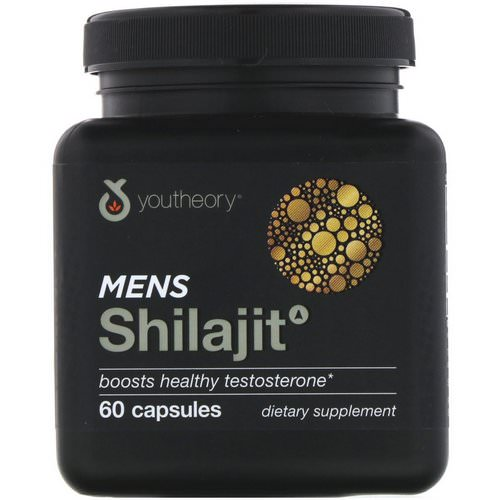 Youtheory, Mens Shilajit, 60 Capsules Review