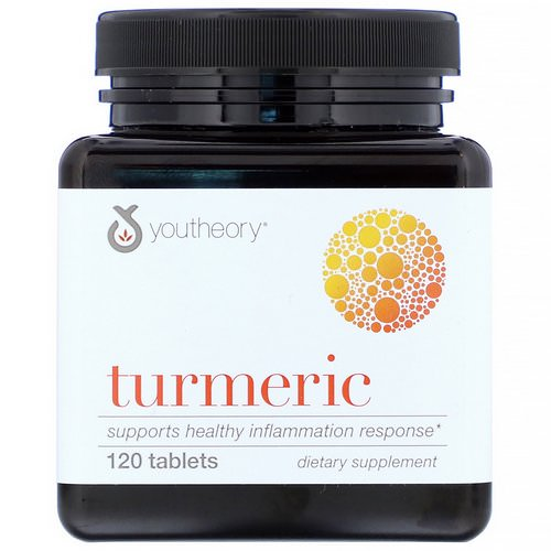 Youtheory, Turmeric, 120 Tablets Review