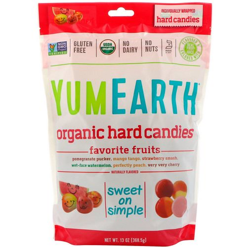 YumEarth, Organic Hard Candies, Favorite Fruits, 13 oz (368.5 g) Review