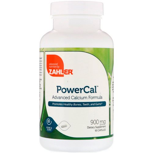 Zahler, PowerCal, Advanced Calcium Formula, 900 mg, 90 Capsules Review
