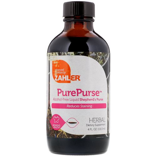 Zahler, PurePurse, 4 fl oz (118.3 ml) Review