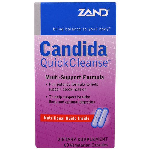 Zand, Candida Quick Cleanse, 60 Veggie Caps Review