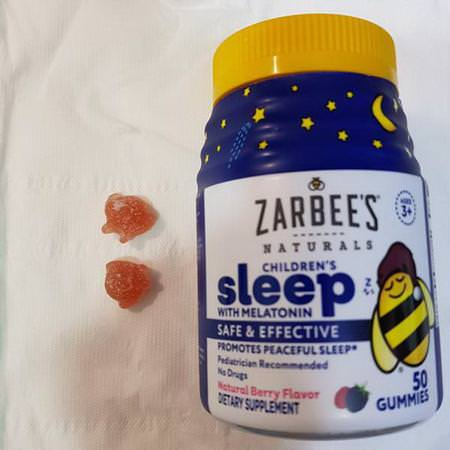 Children's Sleep with Melatonin, Natural Berry Flavor