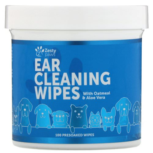 Zesty Paws, Ear Cleaning Wipes, For Dogs, 100 Presoaked Wipes Review