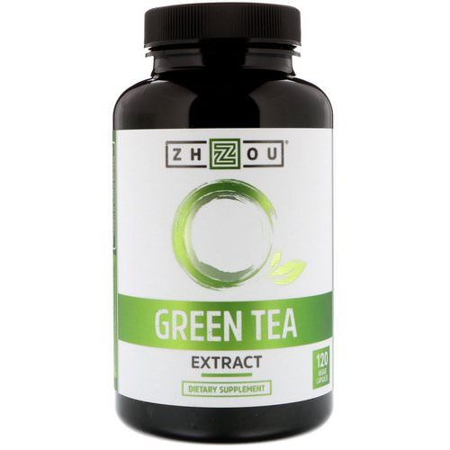 Zhou Nutrition, Green Tea Extract, 120 Veggie Capsules Review