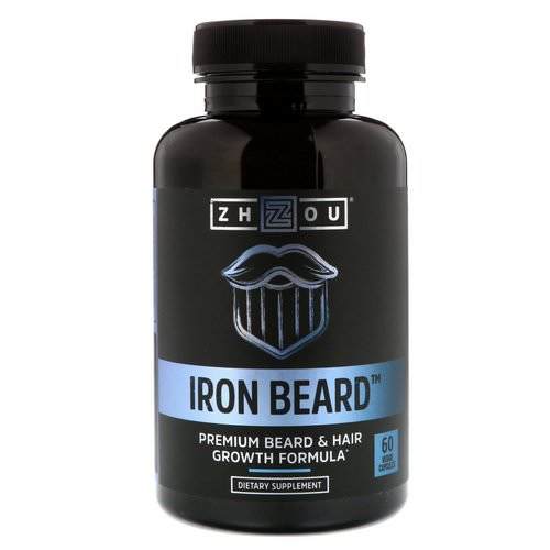 Zhou Nutrition, Iron Beard, 60 Veggie Capsules Review