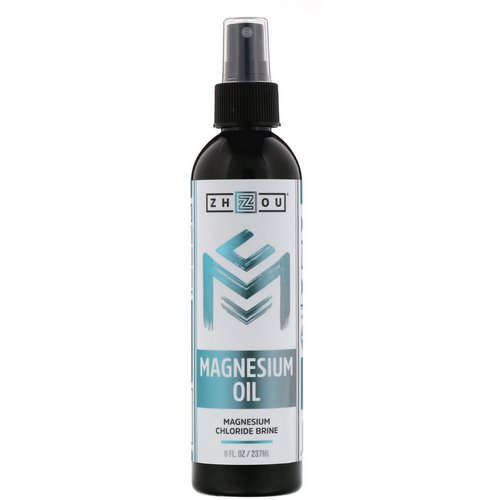 Zhou Nutrition, Magnesium Oil, 8 fl oz (237 ml) Review