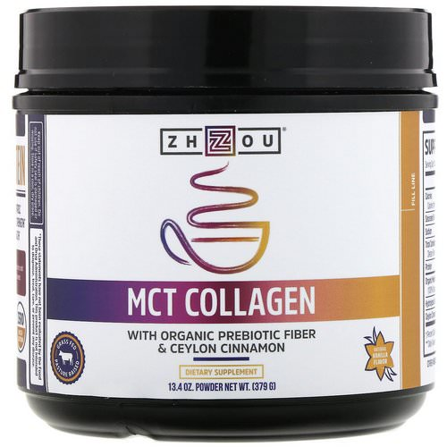 Zhou Nutrition, MCT Collagen, Natural Vanilla, 13.4 oz (379 g) Review