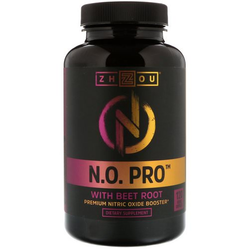 Zhou Nutrition, N.O. Pro with Beet Root, 120 Veggie Capsules Review