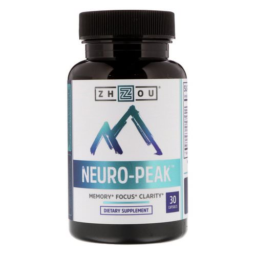 Zhou Nutrition, Neuro-Peak, 30 Capsules Review
