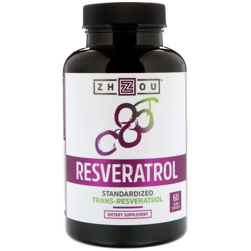 Zhou Nutrition, Resveratrol, 60 Vegetarian Capsules Review