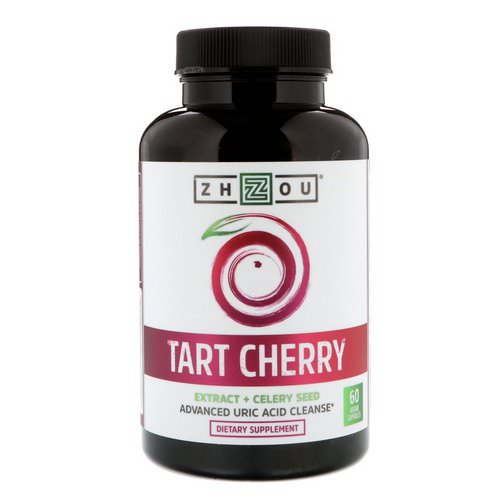 Zhou Nutrition, Tart Cherry Extract + Celery Seed, 60 Veggie Capsules Review