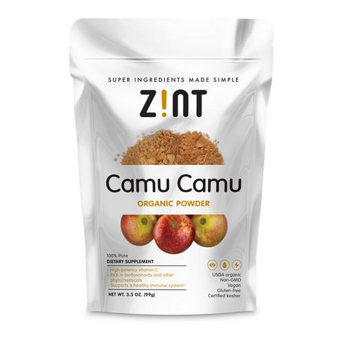 Zint, Camu Camu Organic Powder, 3.5 oz (99 g) Review