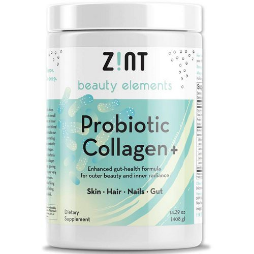 Zint, Probiotic Collagen +, For Skin, Hair, Nails, Gut, 14.39 oz (408 g) Review