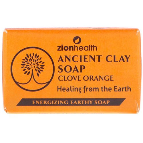 Zion Health, Ancient Clay Soap, Clove Orange, 6 oz (170 g) Review