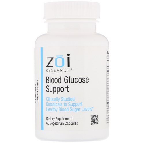 ZOI Research, Blood Glucose Support, 60 Vegetarian Capsules Review