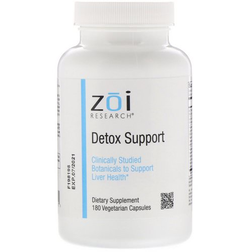 ZOI Research, Detox Support, 180 Vegetarian Capsules Review