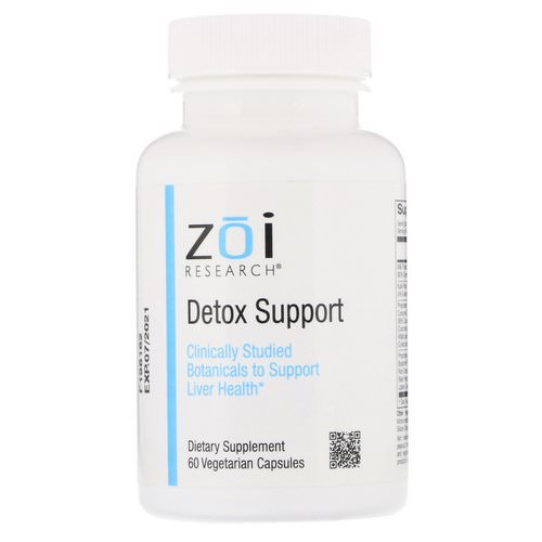 ZOI Research, Detox Support, 60 Vegetarian Capsules Review