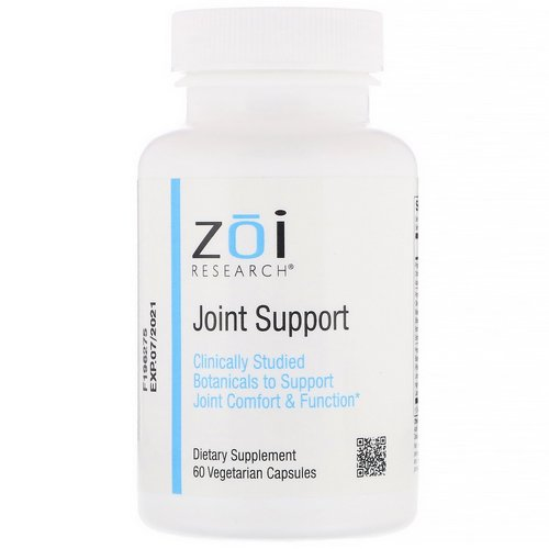 ZOI Research, Joint Support, 60 Vegetarian Capsules Review