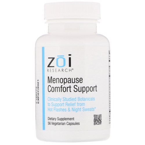 ZOI Research, Menopause Comfort Support, 56 Vegetarian Capsules Review