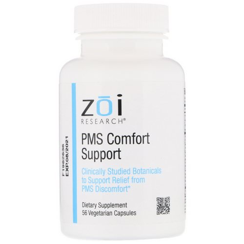 ZOI Research, PMS Comfort Support, 56 Vegetarian Capsules Review