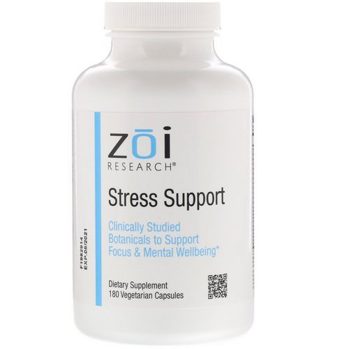 ZOI Research, Stress Support, 180 Vegetarian Capsules Review