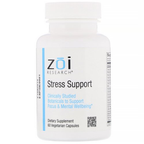 ZOI Research, Stress Support, 60 Vegetarian Capsules Review