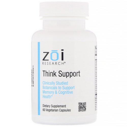 ZOI Research, Think Support, 60 Vegetarian Capsules Review