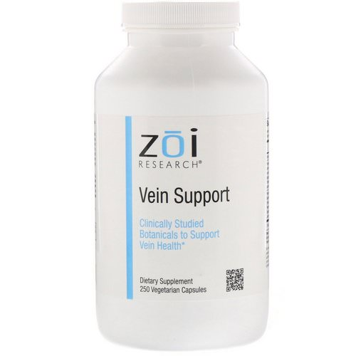 ZOI Research, Vein Support, 250 Vegetarian Capsules Review