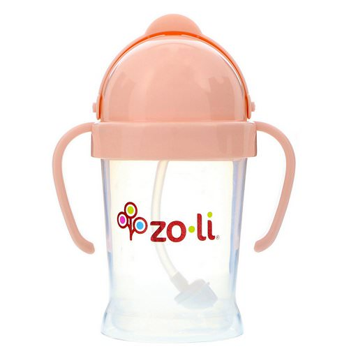 Zoli, Bot, Straw Sippy Cup, Blush, 6 oz Review
