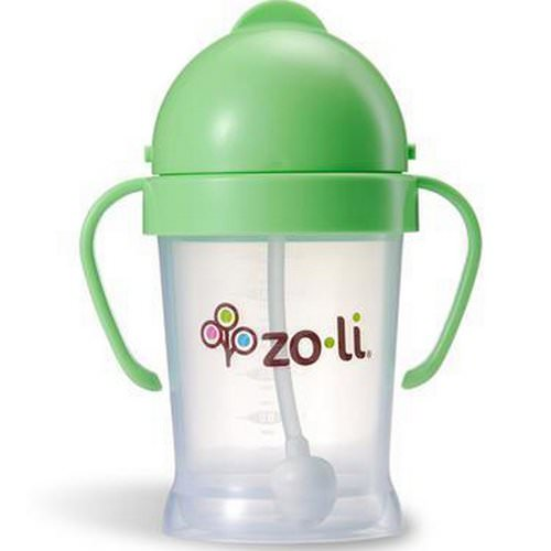 Zoli, Bot, Straw Sippy Cup, Green, 6 oz Review