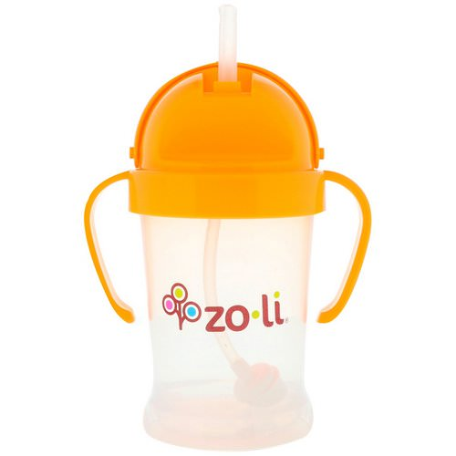 Zoli, Bot, Straw Sippy Cup, Orange, 6 oz Review